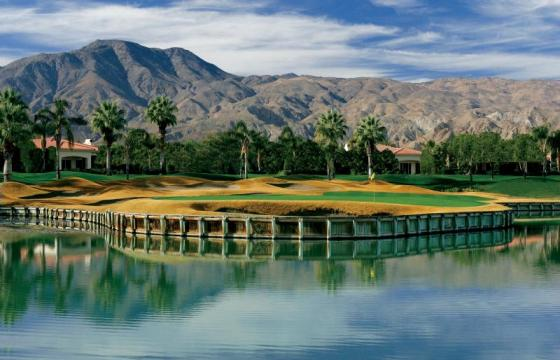 Golfing in Palm Springs